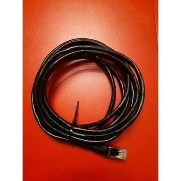 Kabel sieciowy czarny 3 m.
