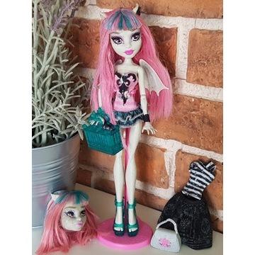 Lalka Monster High Rochelle Goyle + dodatki