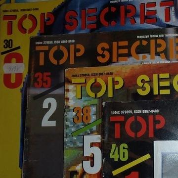 Czasopisma TOP SECRET (6 szt.) 1994, 95, 96 rok
