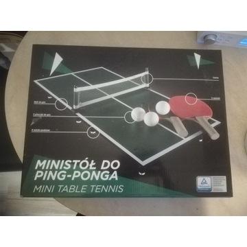 Mini stół do ping ponga