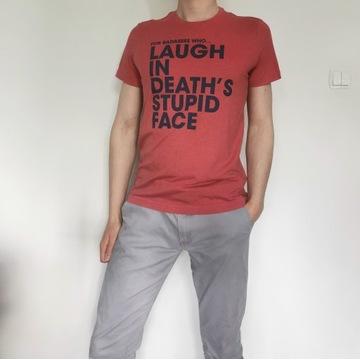 Koszulka T-shirt battleborn męska M napis