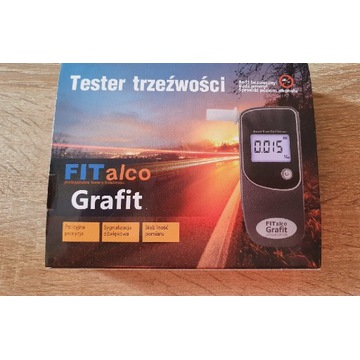 Alkomat, tester trzeźwości Fitalco Grafit SE