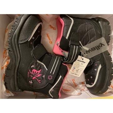 Buty zimowe - WALKY - nowe
