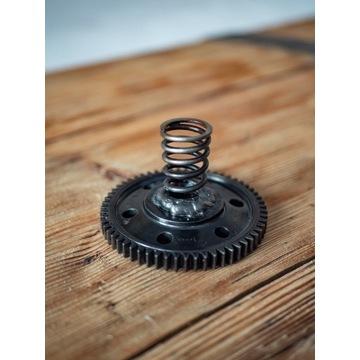 Świecznik industrialny / loft / unikat / prezent
