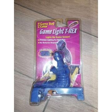 Game Light T-rex lampka Game Boy Gameboy Color