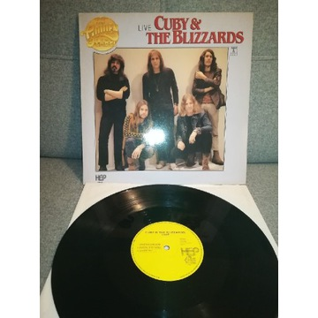 Cuby The Blizzards -Live winyl NM Holland 1981 rok
