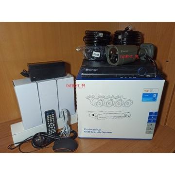 Zestaw kamer IP 5mpx POE, led,twarze,głos,alarm