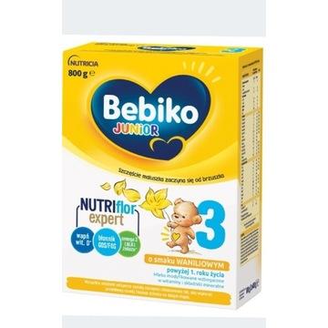 Mleko Bebiko Junior 3 o smaku waniliowym.