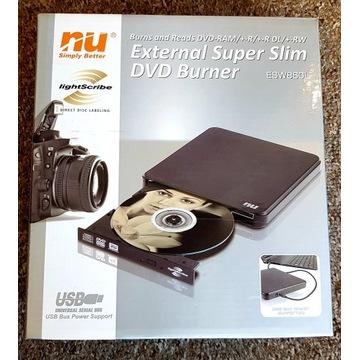 NU ESW-860 External Super Slim DVD Burner, Reader