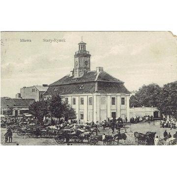 Mława, Stary-Rynek, 1915 rok