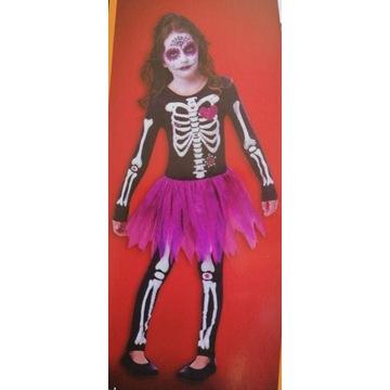 Kostium szkieletor 9-10 lat Halloween