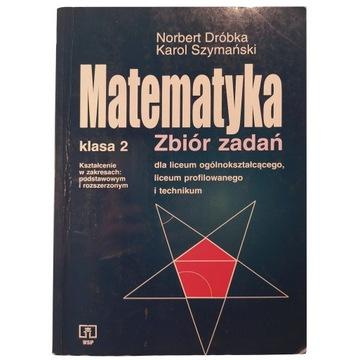 Matematyka klasa 2 zbiór zadań