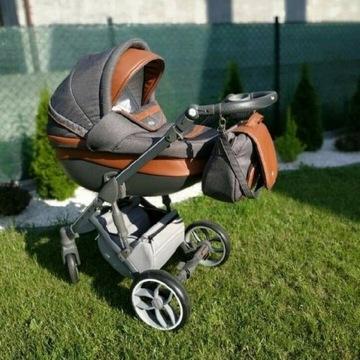 Wózek baby merc 3 faster 2w1 + nosidełko maxi cosi