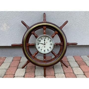 Zegar w kole sterowym