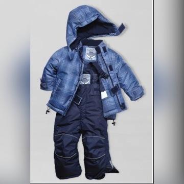 Kombinezon spodnie i kurtka zimowa Tchibo Varcityy