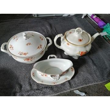 Zestaw porcelany