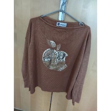 Sweterek oversize