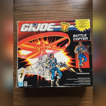 G.I. Joe Cobra helikopter komplet unikat z lat 90