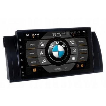 RADIO NAWIGACJA GPS BMW E39 E53 X5 ANDROID 9.0