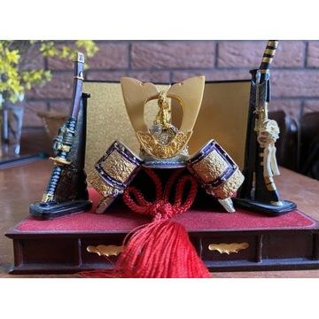 Miniaturowe Kabuto - japoński hełm samuraja