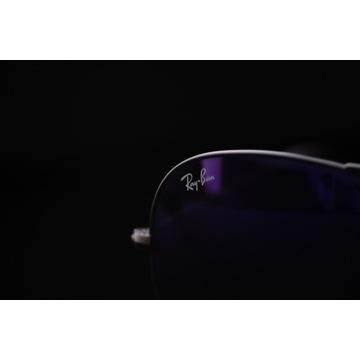 Ray-ban Aviator Purple Metal Gun od 1zł BCM NOWE !