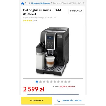 Ekspres do kawy De Longhi