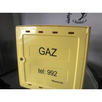 Skrzynka gazowa 560x560x250