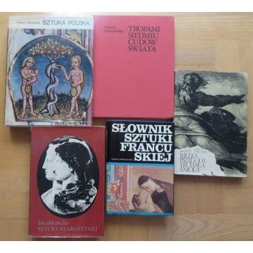 5 książek  historia sztuki