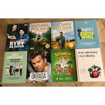 Okazja! Zestaw 8 książek Lidl Jeść zdrowiej