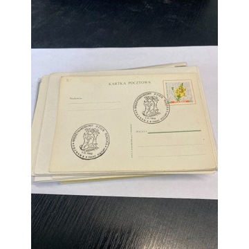 75 sztuk kartek pocztowych itp.
