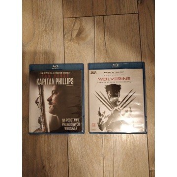 Wolverine i Kapitan Phillips pl Blu-ray