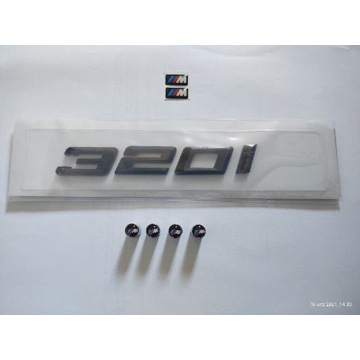 BMW E36 E46 E90 emblemat czarny mat + gratisy
