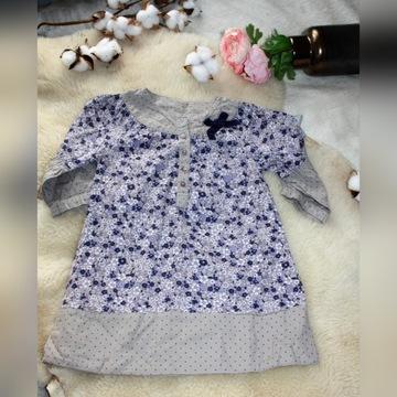 Sukienka w kwiatuszki