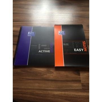 Oxford kołonotes brulion Easy notes i Active book