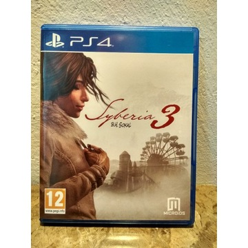 Syberia 3 PS4 PL