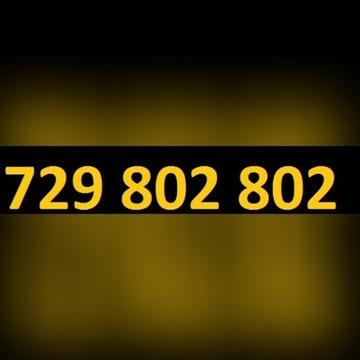 """WYJĄTKOWY 729 802 802 - """"ZŁOTY NUMER"""" - łatwy"""