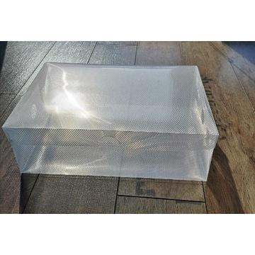10 szt. Pudełek plastikowych 28 x 18 cm wys. 10cm