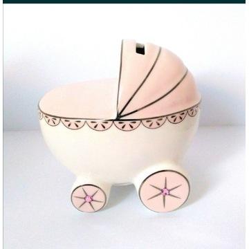 Wózek skarbonka dla dziecka prezent