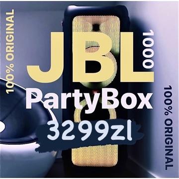 JBL PartyBox 1000 Bluetooth Portable Speaker 1100W