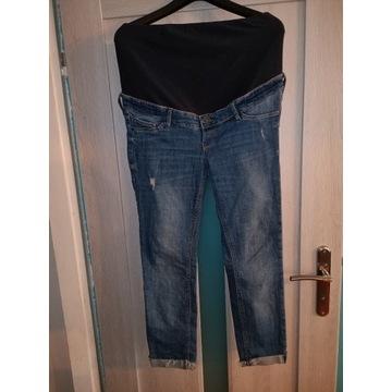 Spodnie ciążowe rurki r 40 L spodnie 3/4 jeans H&M