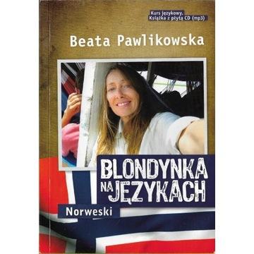 Blondynka na językach Norweski + CD  NOWA