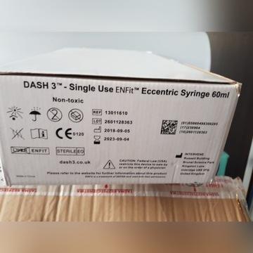 Strzykawka DASH ENFIT enteralna do żywnienia 60 ml