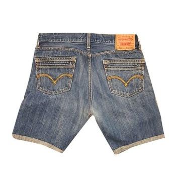 LEVIS spodenki jeansowe męskie  W34 na 90 cm pas