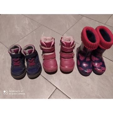 Zestaw butów jesiennych 23