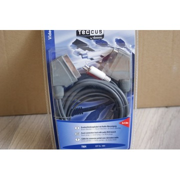 Kabel łączący Scart z rozdzielnikiem  Audio