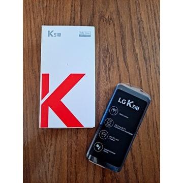 NOWY Smartfon LG K51S Dual SIM 3/64GB tytanowy