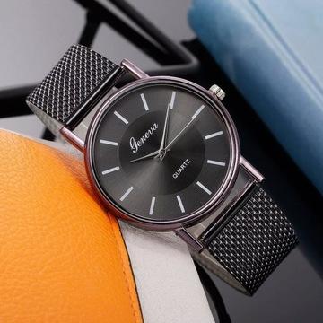 Ładny stylowy zegarek kwarcowy licytacja od 1zł