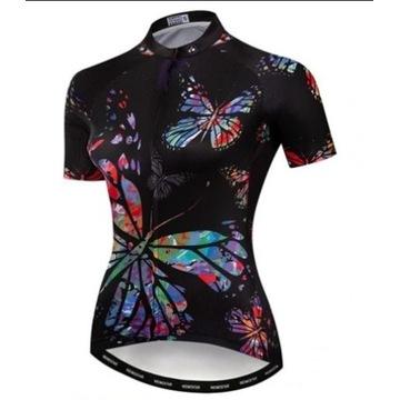 Damska koszulka na rower