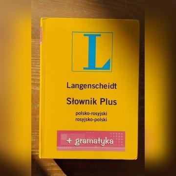 Langenscheidt Słownik Plus rosyjski