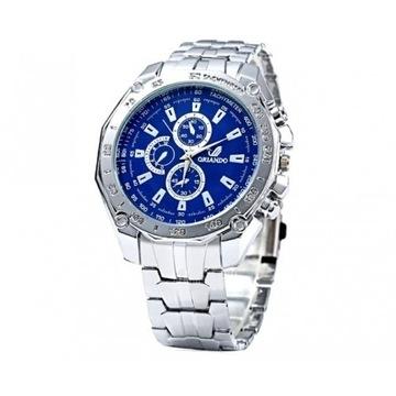 Elegancki zegarek męski LICYTACJA  OD 1 ZŁ